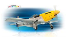 Picture of PH068 – P51 MUSTANG Size.46-.55 GP/EP SCALE 1:7 ½ ARF