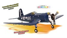 Picture of PH140– F4U CORSAIR GP/EP size.120/20cc SCALE 1:7 ARF