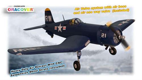 Picture of  PH129 – F4U CORSAIR SIZE 60CC GP/EP SCALE 1:5 ½ ARF