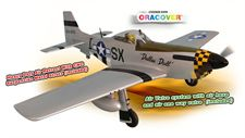 Picture of PH185 - MUSTANG P51 GP/EP 50-61 CC SCALE 1:5 ¼ ARF